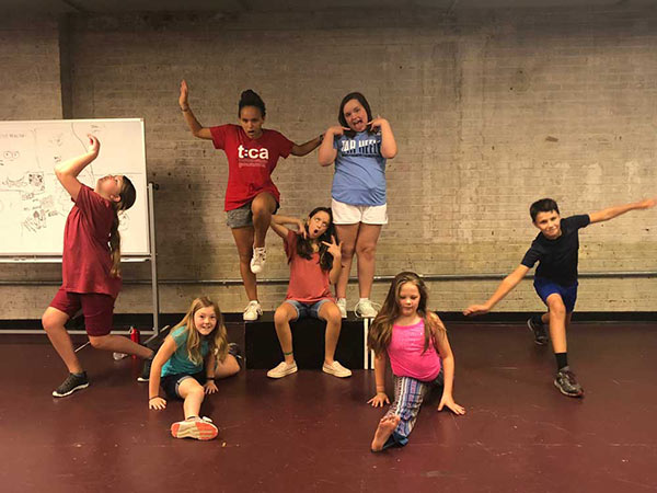Triad Stage Summer Camps