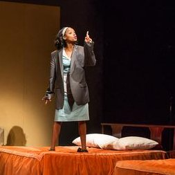 Triad Stage - Pictured: Cedric Mays and Lakisha May; Photo by: VanderVeen Photographers